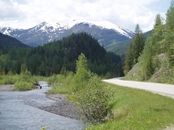 touring the selkirk loop highway 31