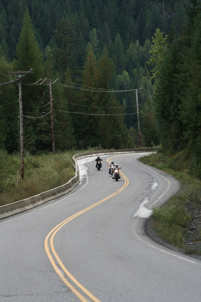 touring the selkirk loop best motorcycling roads in canada