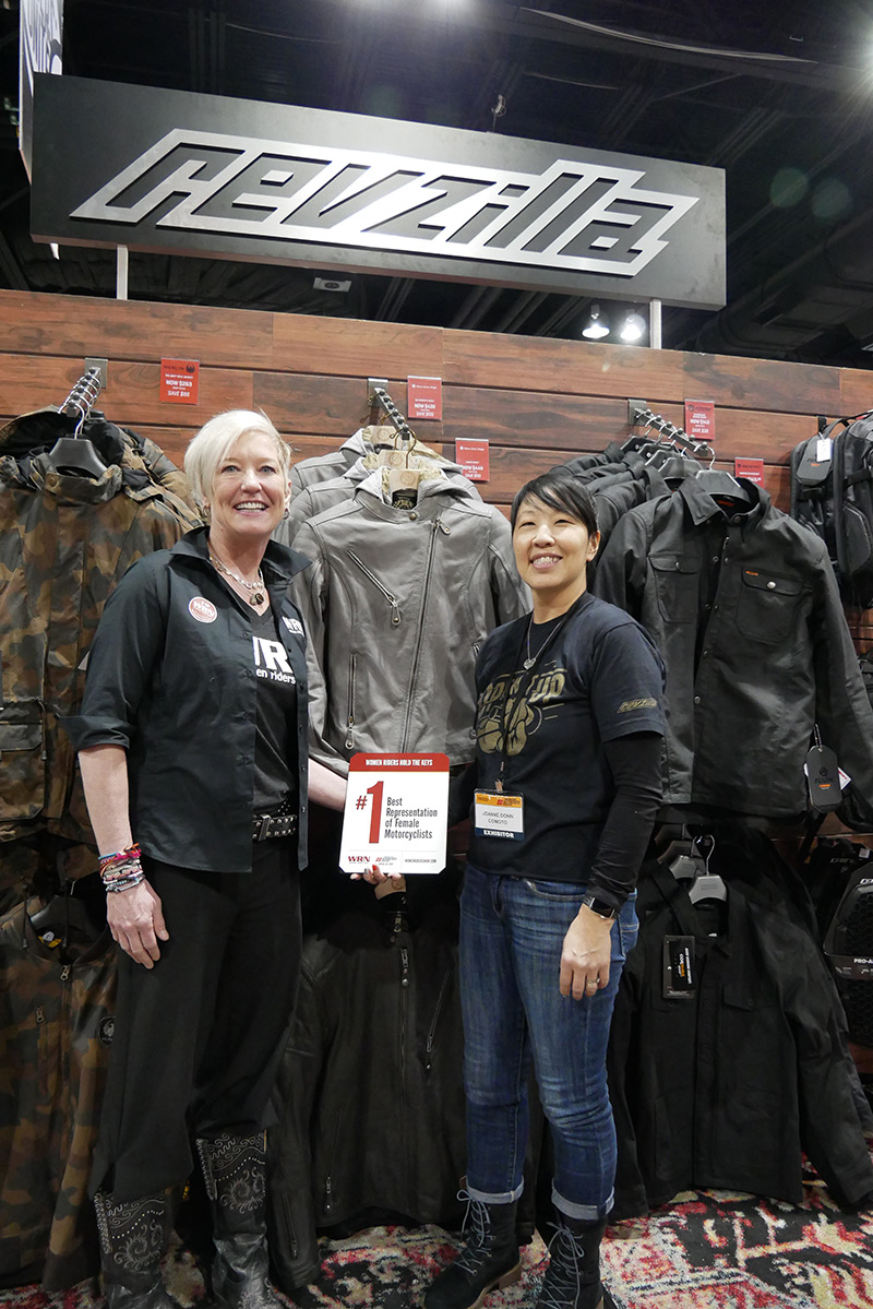 WRN Presents Winners at Denver IMS Discover The Ride Revzilla Joanne Donn
