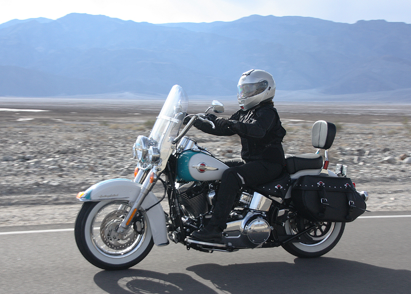 review 2016 harley davidson heritage softail classic woman riding
