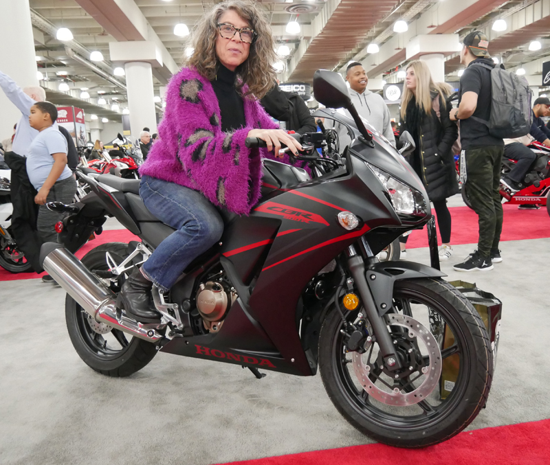 Progressive International Motorcycle Show Long Beach Honda CBR300