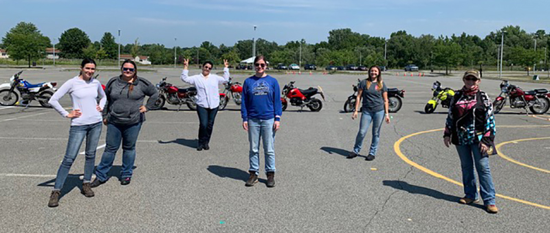 motorcycling safely in a pandemic maggir mcnally msf womens class