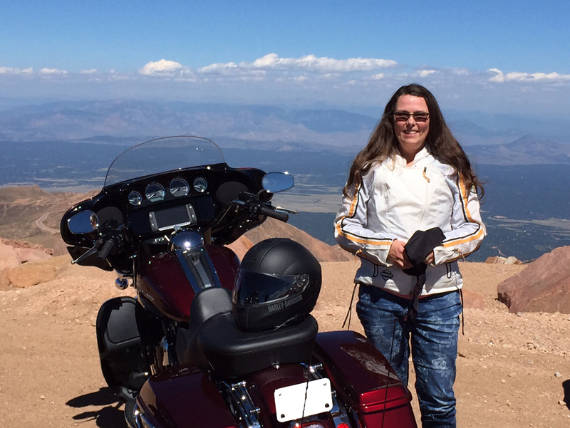 back seat to the front pikes peak