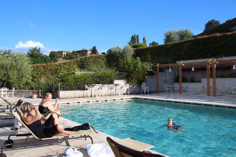 postcards from italy pool