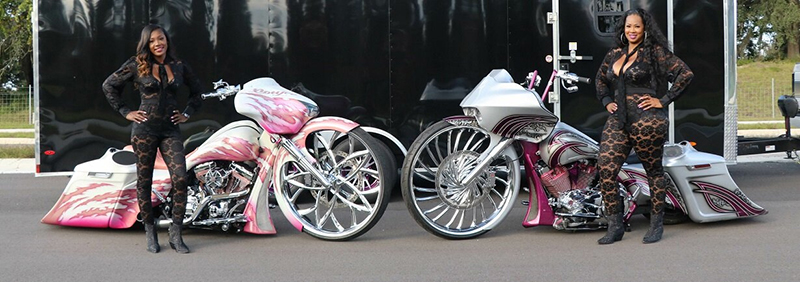 daytona bike week 2021 80th anniversary motorcycle event big wheel women