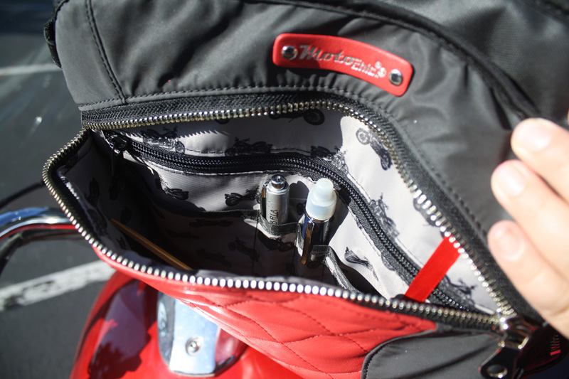 review lauren bag by motochic pockets
