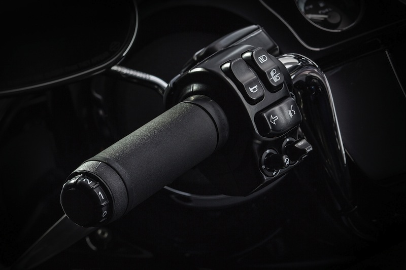 Harley-Davidson's Project RUSHMORE Hand Control Switches