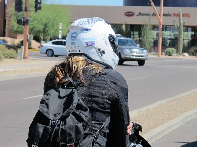 Valerie Thompson Profile Schuberth Helmet