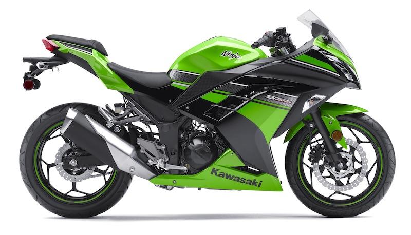 Kawasaki Ninja 300 Review Green