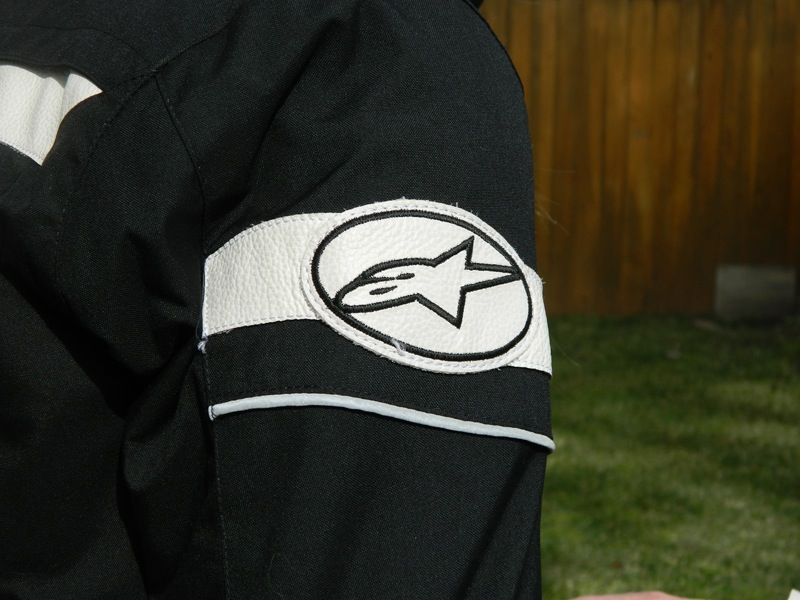 Alpinestars Stella T-Fuel Jacket Review Logo