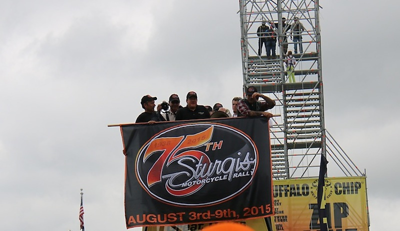 74th Annual Sturgis Motorcycle Rally 75th logo