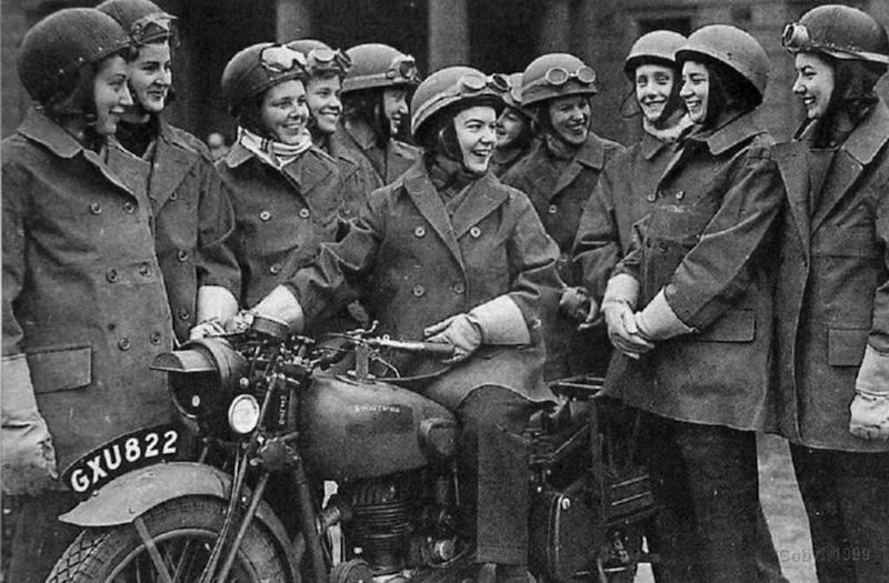 Pioneers Female Dispatch Riders of World War II group
