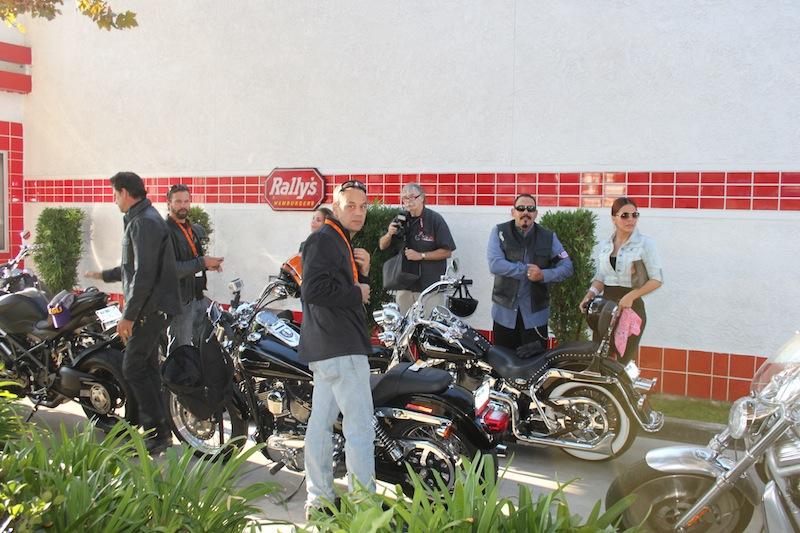 Backroads with Betsy Love Ride 30 Lorenzo Lamas Emilio Rivera motorcycle