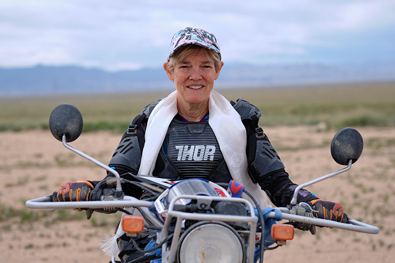 delivering yamaha dual sport bikes to save the planet candace hateley scarf