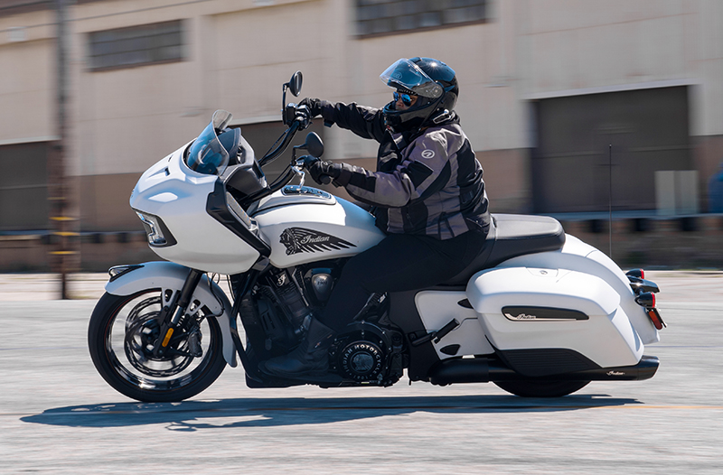 review 2020 indian motorcycle challenger woman riding