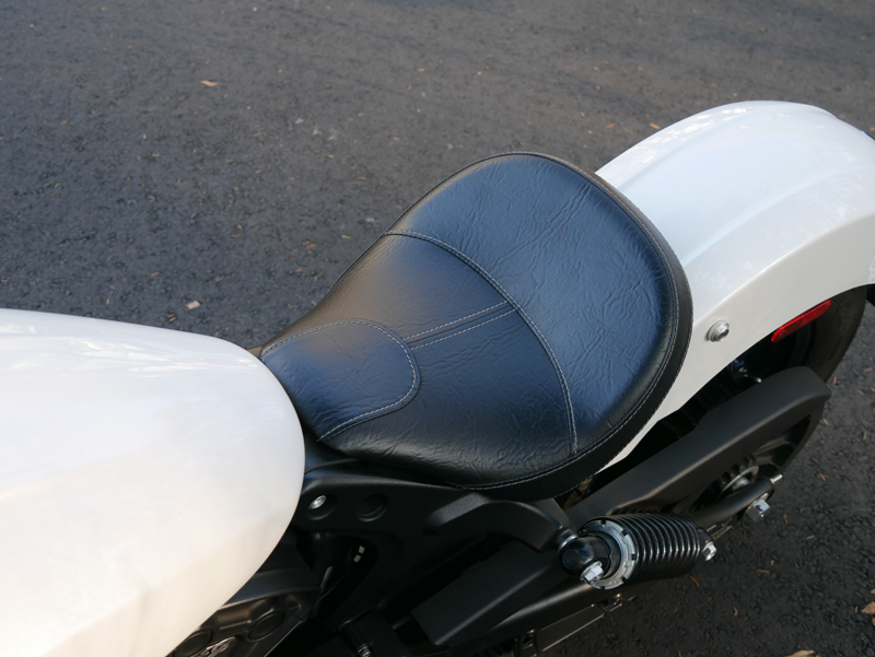 review 2016 indian motorcycle scout sixty lever solo seat