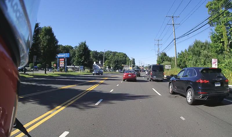10 lane positioning tips motorcycle blind spot