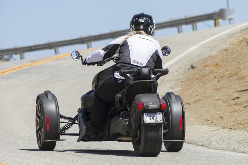 Three-Wheeler Review: Can-Am Ryker Safety 2