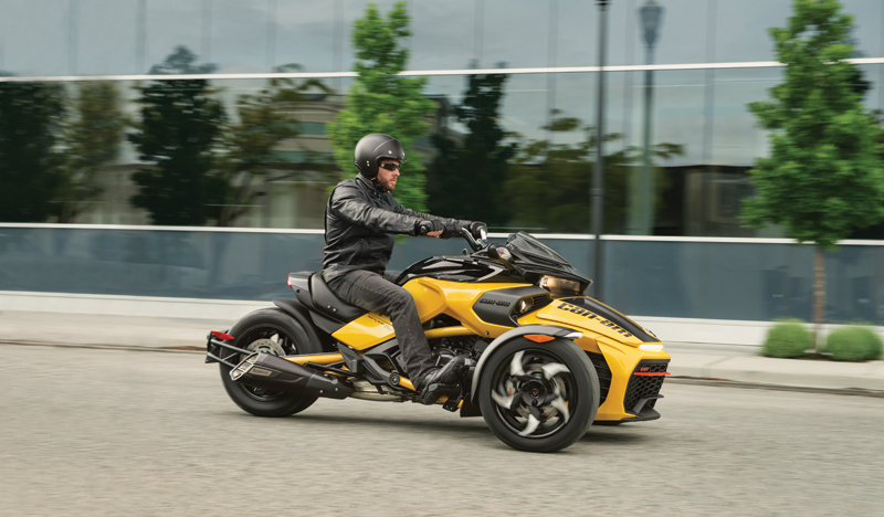 new motorcycles for 2017 Spyder F3-S Sport Mode