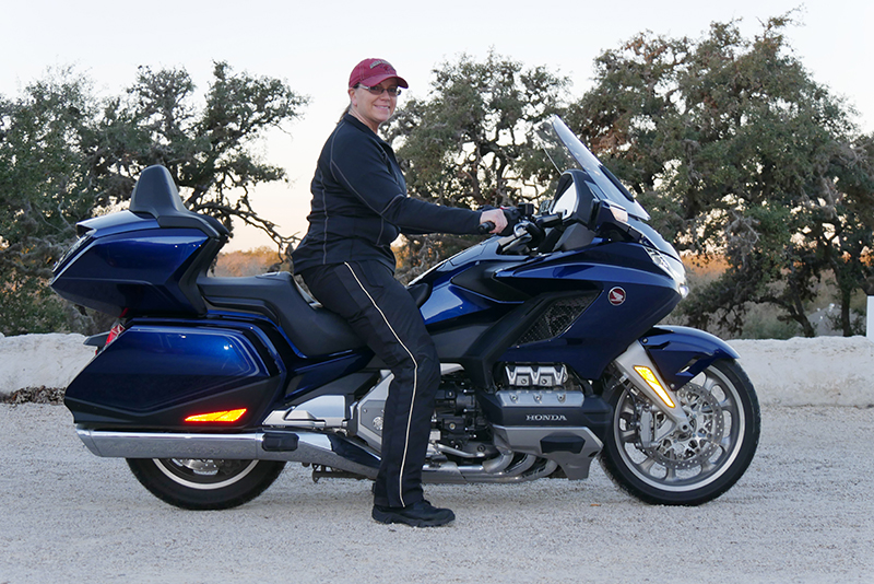 what we love about the new 2018 honda gold wing touring motorcycle seat height