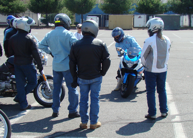 one day class for experienced riders msf advanced ridercourse static demo