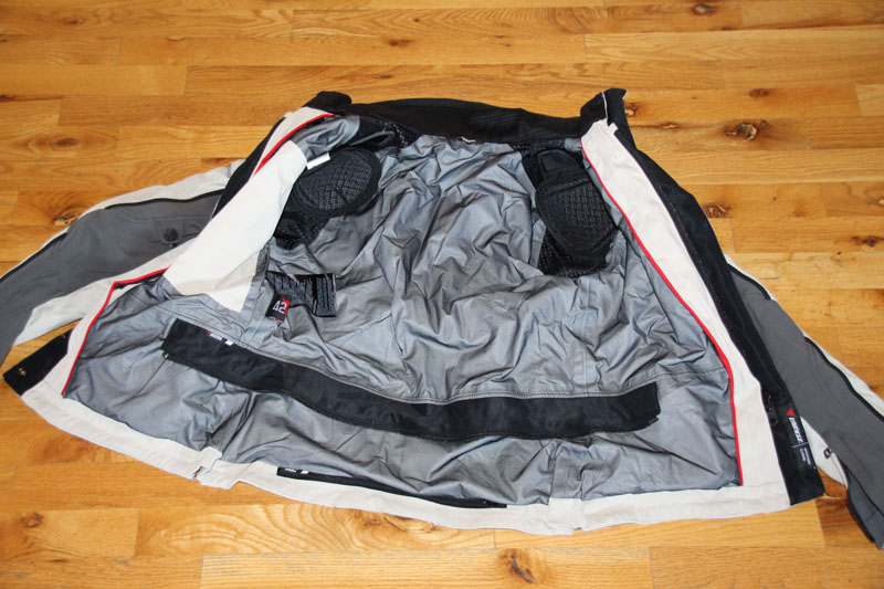 review dainese gore-tex jacket and pants review inside