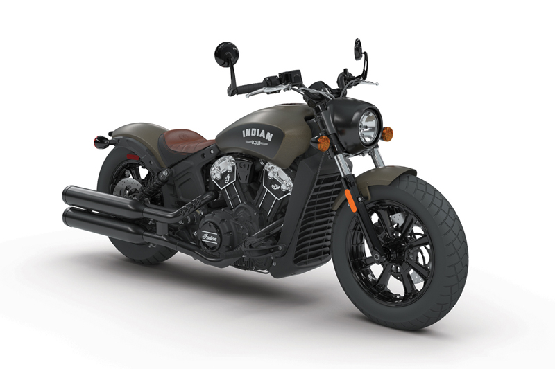 less is more indian scout bobber bronze smoke