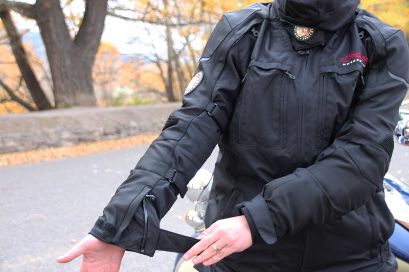 Review: Simple Waterproof Motorcycle Touring Pants Jacket Sleeve Straps