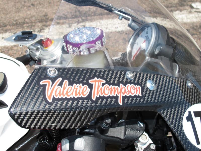 Valerie Thompson Profile Bling