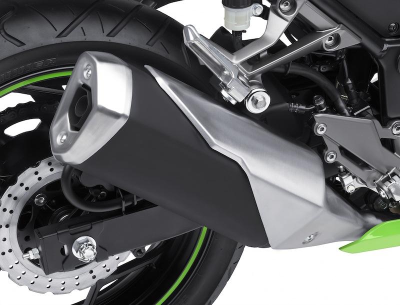 Kawasaki Ninja 300 Review Exhaust