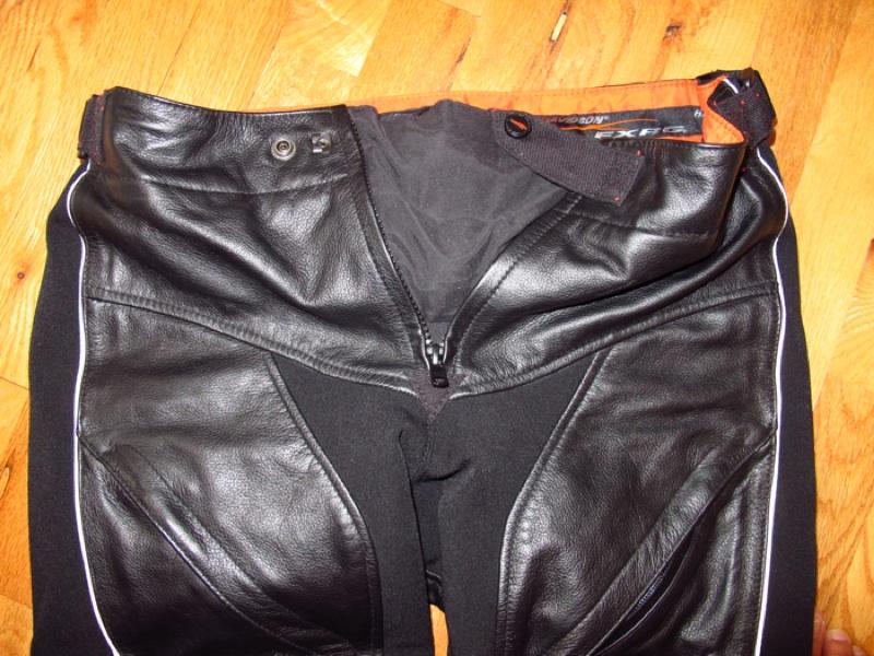 Harley-Davidson FXRG Leather Overpant Review Waistline