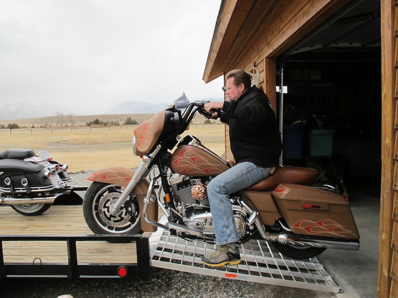 Best Motorcycle Trailer Loading Ramp Street Glide
