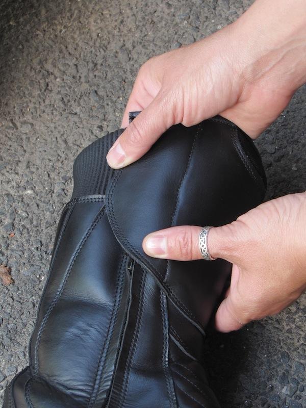 TCX Lady Aura Boot Review Waterproof Flap