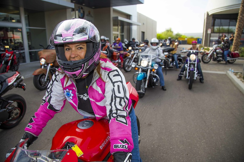 International Female Ride Day Sportbike
