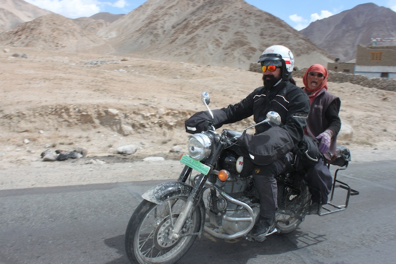Backroads with Betsy Motorcycling in the Himalayas Royal Enfield