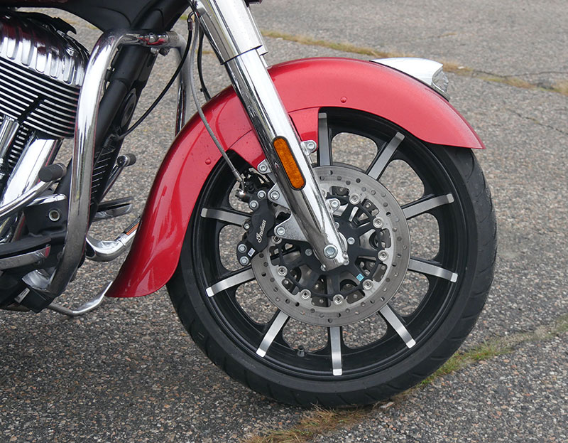 Review: 2019 Indian Motorcycle Chieftain Limited_front_wheel