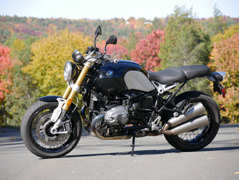 review 2016 bmw r ninet exhaust