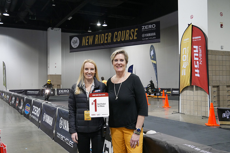 WRN Presents Winners at Denver IMS Discover The Ride Alisa Clickenger Meredith Loza