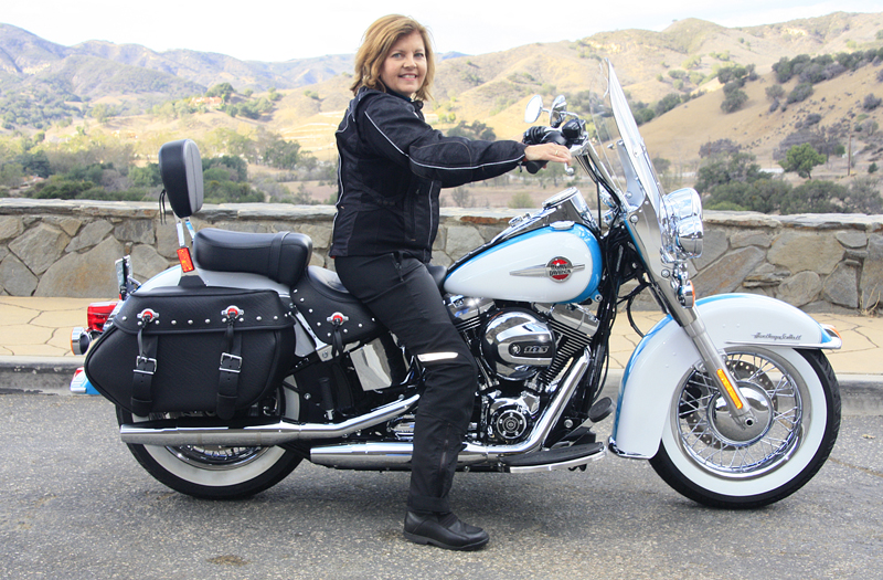 review 2016 harley davidson heritage softail classic seat height woman