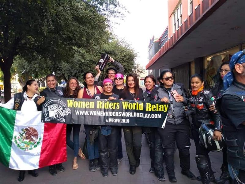 The Women Riders World Relay WRWR Hits the American Road Hayley Bell Liza Miller