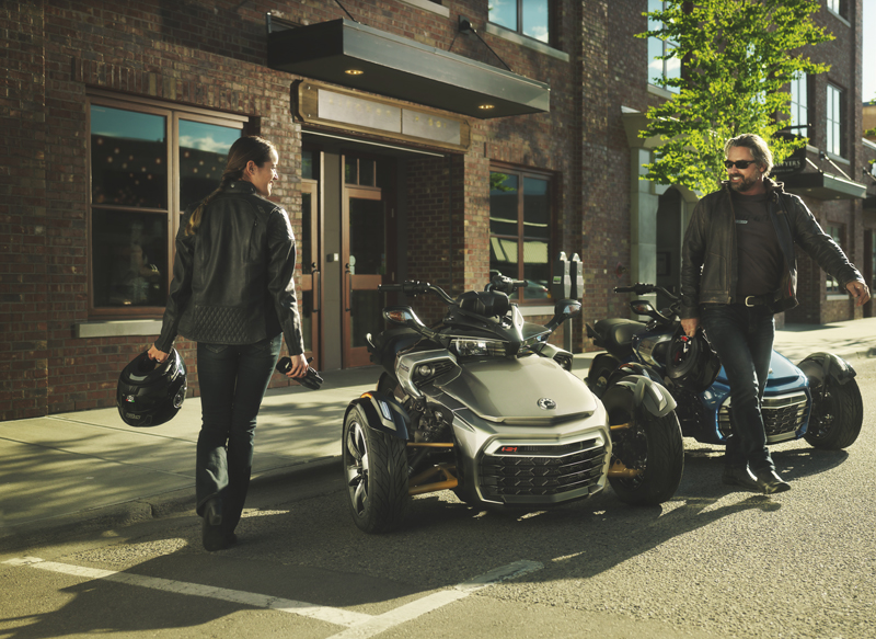 new motorcycles for 2017 Spyder F3-S