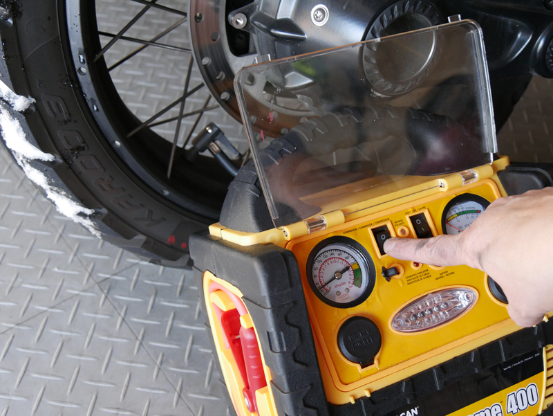 8 steps to prep your motorcycle for winter storage inflate tires