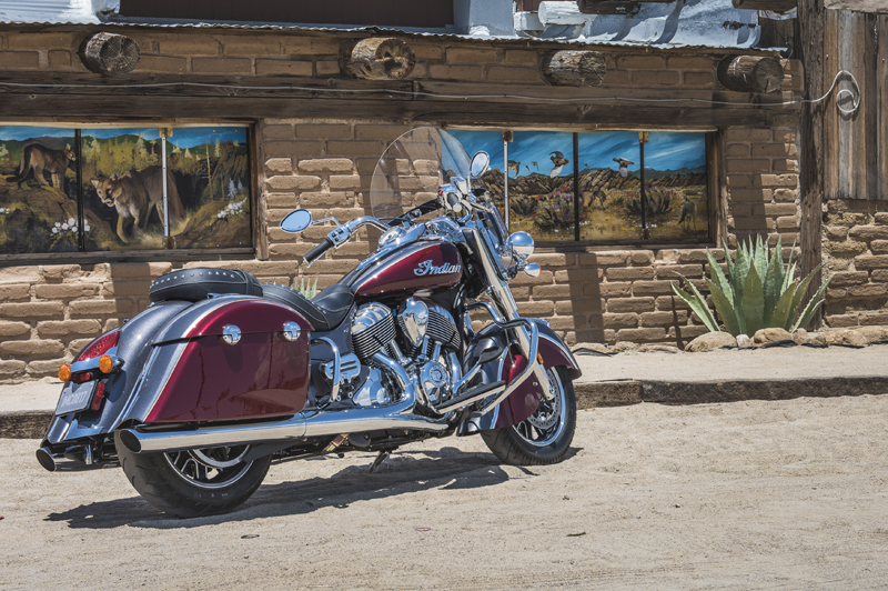 review 2016 2017 indian motorcycle springfield two tone