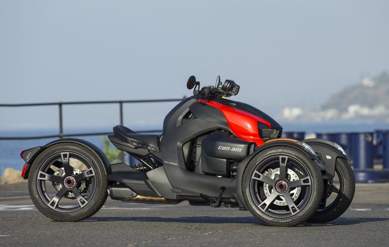 Three-Wheeler Review: Can-Am Ryker Brakes