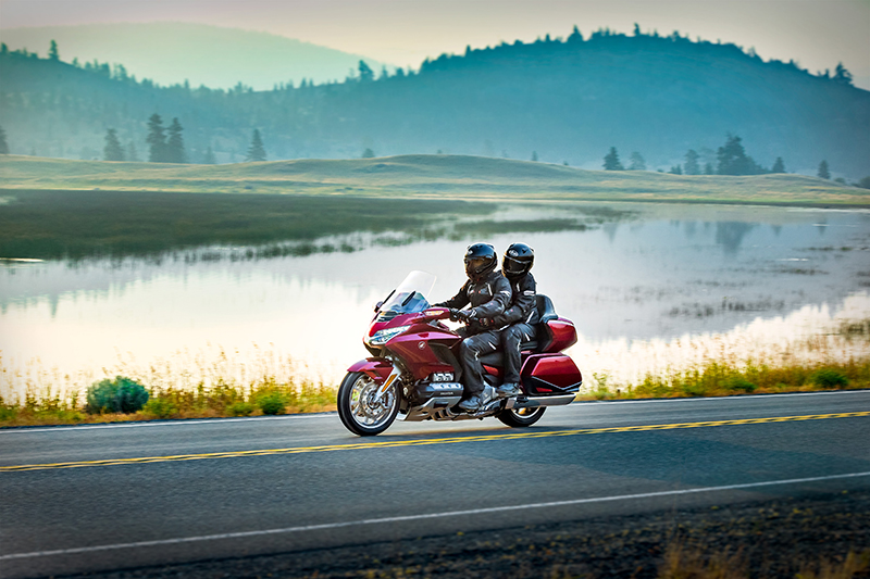 what we love about the new 2018 honda gold wing touring motorcycle two up