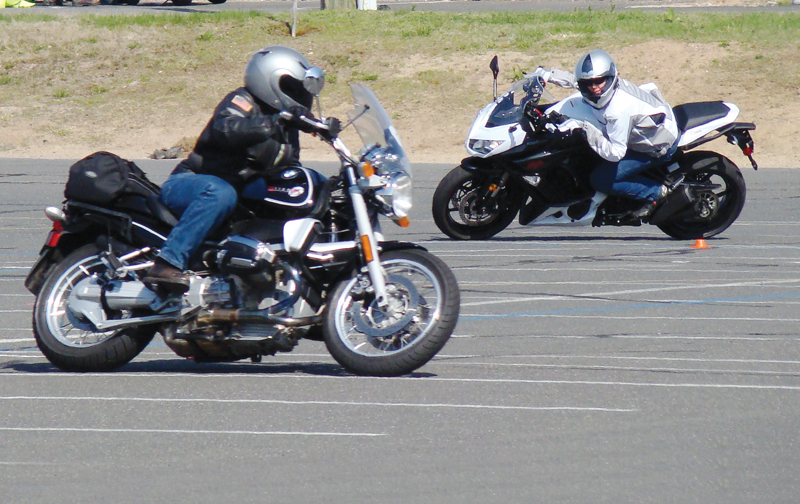 one day class for experienced riders msf advanced ridercourse lean
