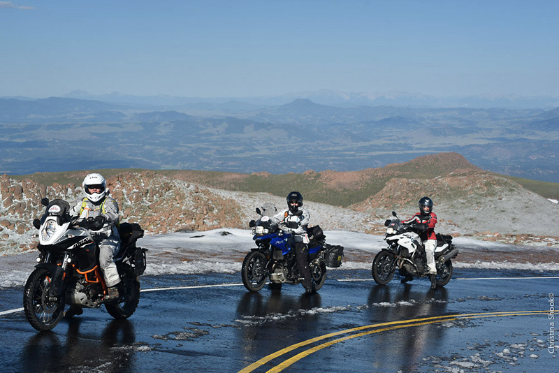 large scale womens motorcycle ride wraps up in san francisco pikes peak