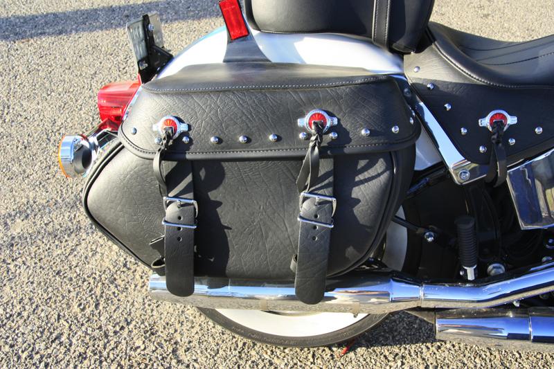 review 2016 harley davidson heritage softail classic saddlebag