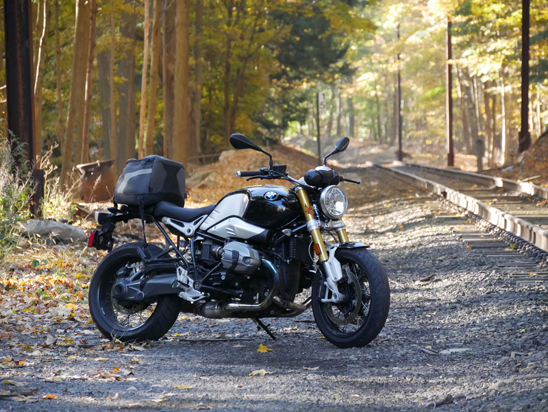 review 2016 bmw r ninet luggage