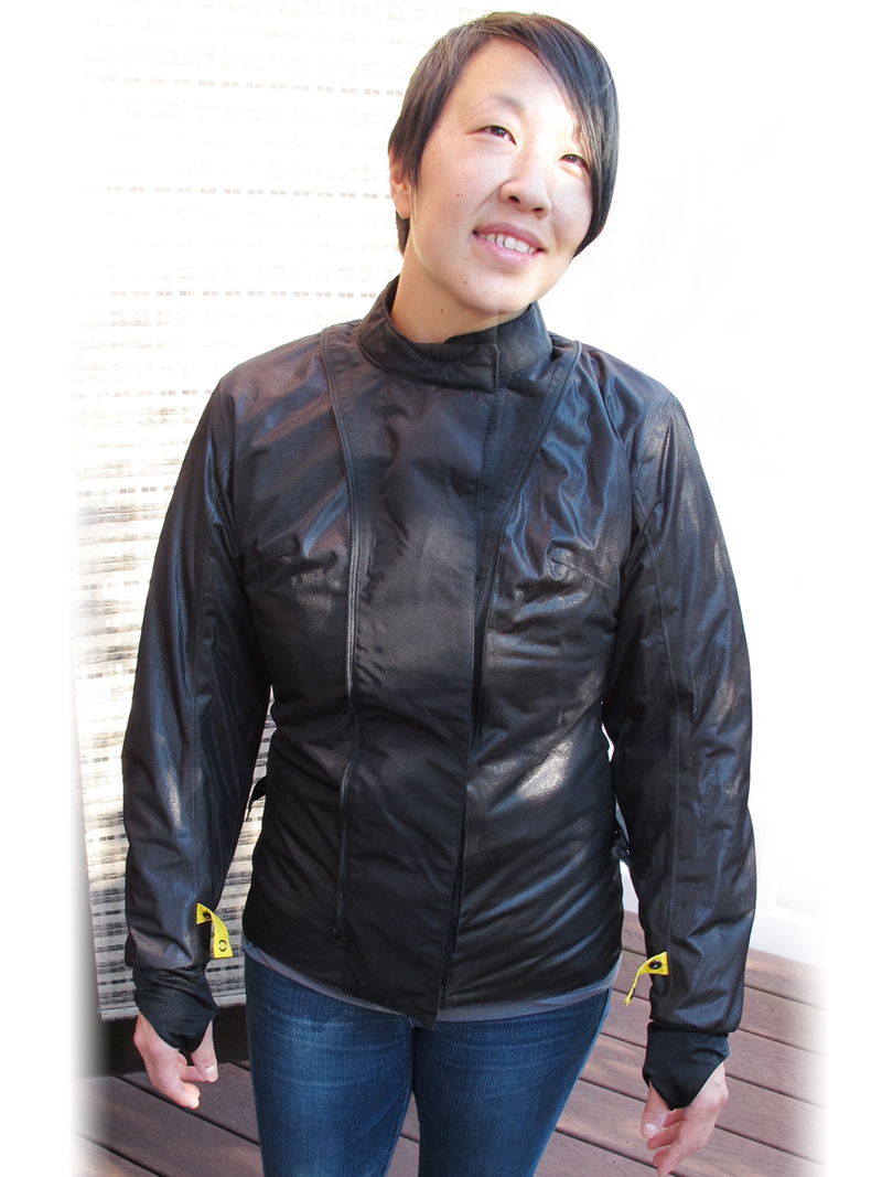 review three season textile jacket from scorpion liner